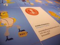 Sailors & Mermaids business cards