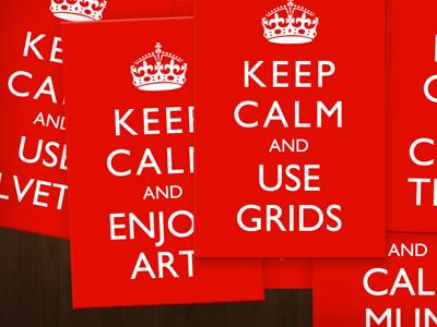 Keep Calm red keep calm british calling card moo