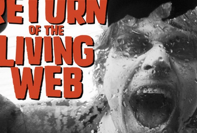 Return of the Living Web slides zombies pun keynote intranet