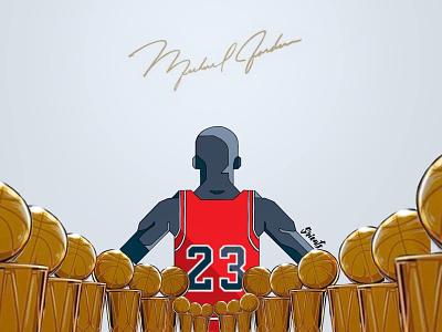 The Last Dance - Michael Jordan flat design michael jordan nba poster flat illustration digital illustration digital art illustration