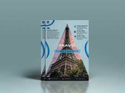 Travel Flyer bi fold brochure illustration logo admissions calendar music flyer corporate design bannner business card design brochure flyer flyer design