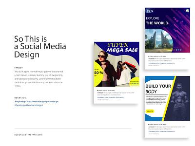 Social Media Design flyer business flyer corporate design music flyer business card poster brochure bi fold brochure corporate flyer bannner social media design