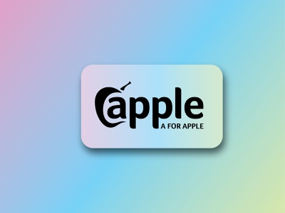 Apple premium logo best logo illustration branding colorful vector design apple