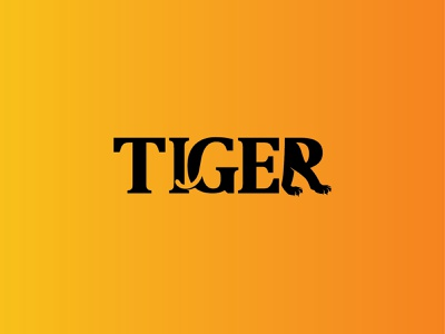 Tiger logo vector illustration design top quality logo