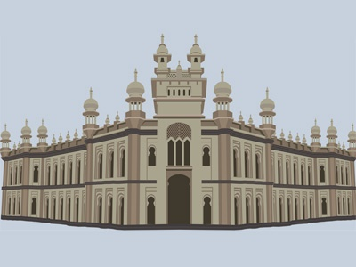 Mosque Illustration illustration mosque