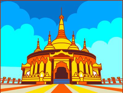 Buddha Dhatu Jadi, Bandarban Golden Temple