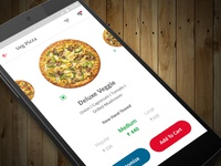 Pizza Delivery App Concept