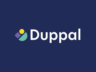 Duppal logo vector icon logo design logo minimal graphic design flat design branding