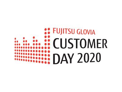 Fujitsu Glovia logo logo design vector logo graphic design design branding