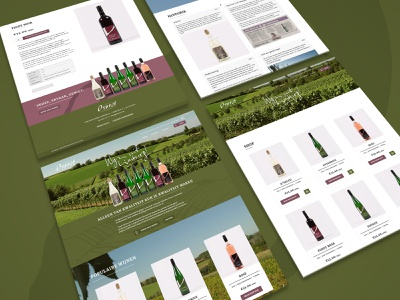 Estate Overst Voerendaal website flat website web ux ui design branding
