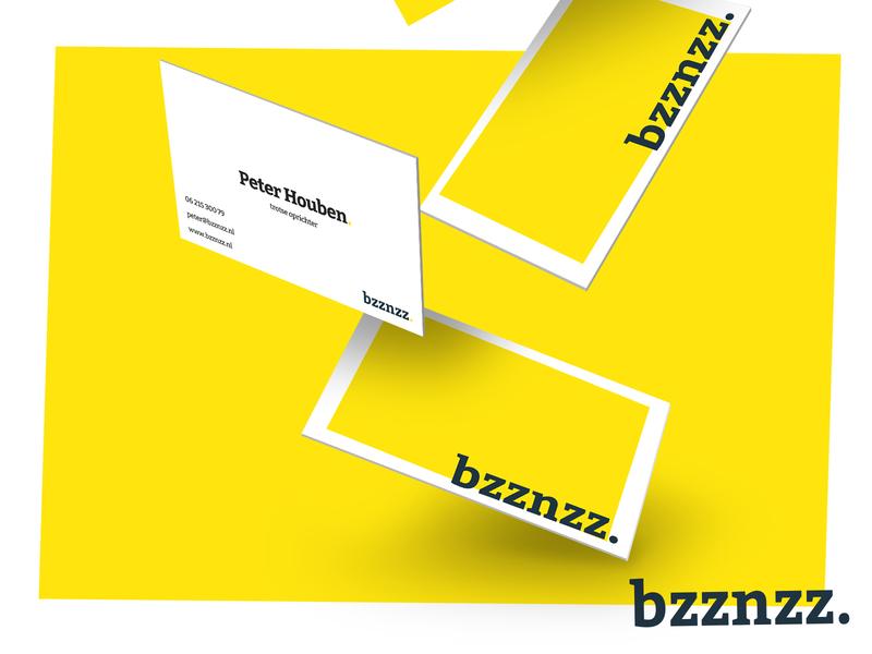 Bzznzz. business cards print design cards business cards business card typography logo graphic design minimal flat design branding