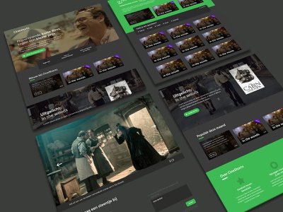 CineShorts platform web development webdevelopment platform website web graphic design minimal flat design branding