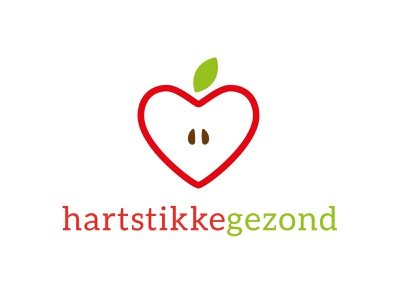 Hartstikkegezond logo logos logo design typography logo graphic design flat design branding