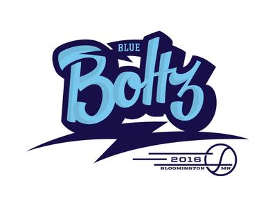 Blue Boltz Logo