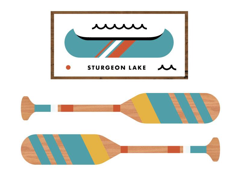 Chef Camp MN icon design illustration