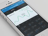 SimpleStock iPhone App