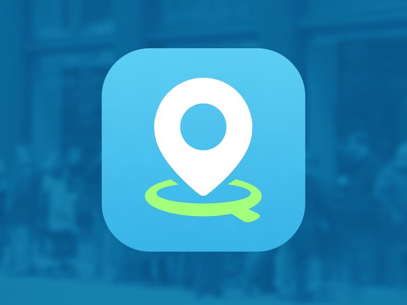 Queuefo App Icon restaurant queue app icon japan social ios tokyo