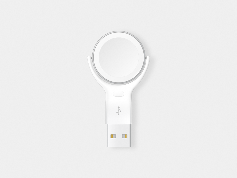 Apple watch charger dribbble