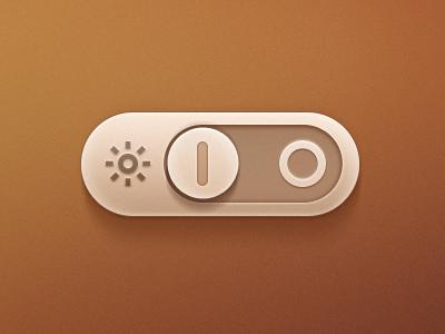 Light Toggle Button light toggle button on off brightness switch innovationbox
