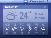 Simple Mac Weather App