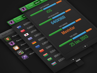 Countly iPhone App Other Screens