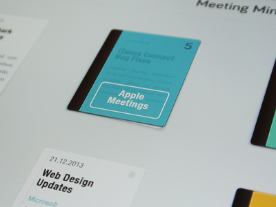 Take Meeting Notes iPad App meeting notes minutes todo ipad iphone ios app file paper writing header cover ux ui innovationbox
