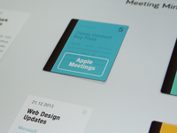 Take Meeting Notes iPad App