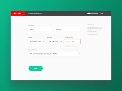 Daily UI: Design 001 — Sign Up