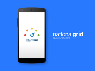 National Grid NGageCALC icons