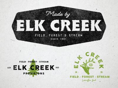 Elk Creek Provisions -- Brand Marks