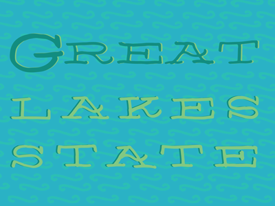 Great lakes state thumb