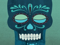 Sugar Skull Illustration 2.0