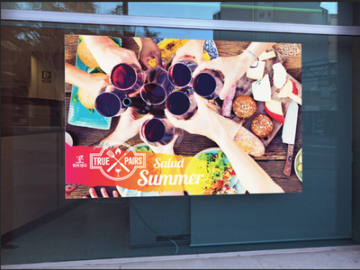 Rioja Summer Grilling series colorful consumer wine campaign photography print advertising seasonal summer grilling spain vineyard in the wild design logo branding