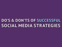 Successful Social Media Strategies Infographic