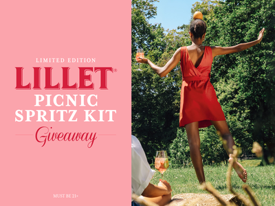 Lillet Sweepstakes - Art Direction design series lifestyle campaign photography art direction typography wine consumer branding