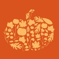 Autumn Stencil