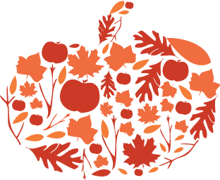 Autumn Pumpkin Stencil Final By Erika Mackley Dribbble