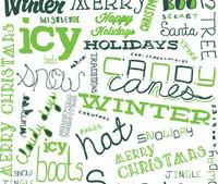 Winter Christmas Lettering