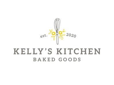 Kelly's Kitchen logo logo design 2colorlogo logodesign logo