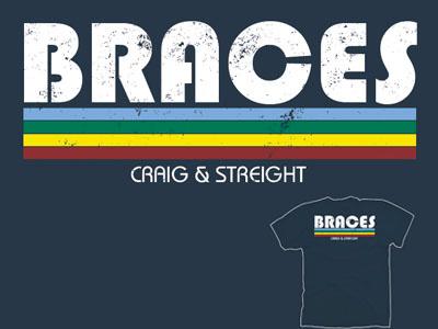 Craig & Streight Orthodontics Retro Tee tshirt 5color tshirtdesign retro orthodontics