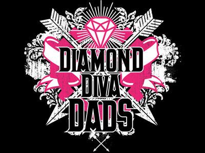 Diamond Diva Dads tshirtdesign 2color tshirt