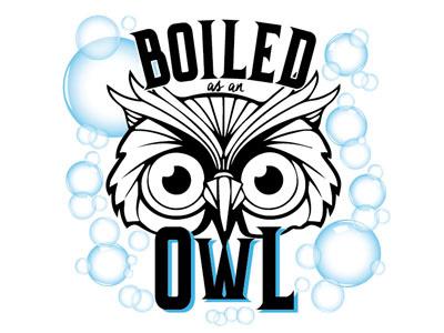 Boiled Owl tshirtdesign tshirt 2color
