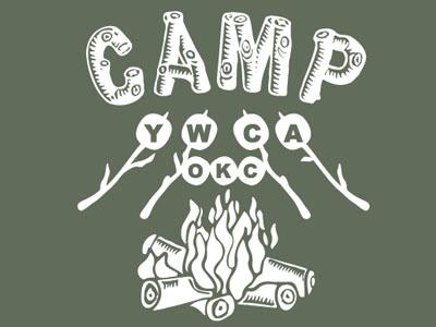 Camp YWCA design tshirt color one