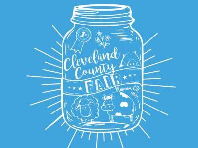 Cleveland County Fair tshirt design 1color