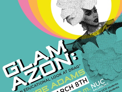 Glamazon Poster studentgroups university drag