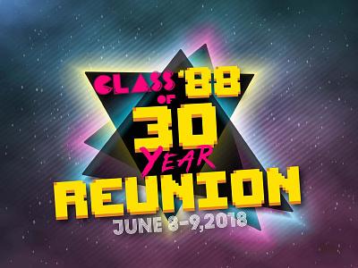 80s Class Reunion Logo longlivethe80s 80s logo