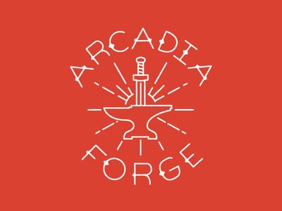 Arcadia Forge custom type type custom sparks forge anvil sword