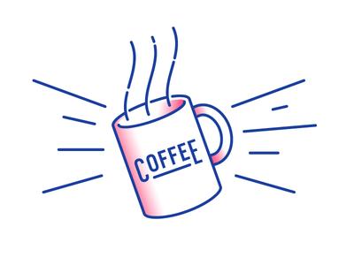 Coffee morning mug coffee