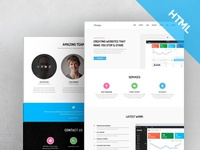 Butterfly - Free Bootstrap Theme