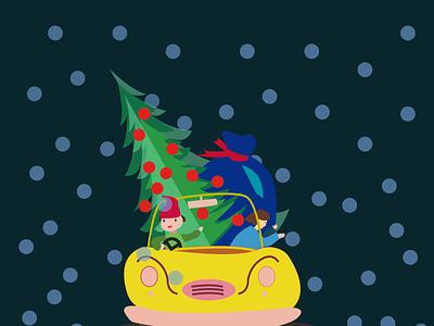 a winter car